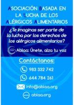 ABLAA: Asociación Basada en la Lucha de los Alérgicos Alimentarios.