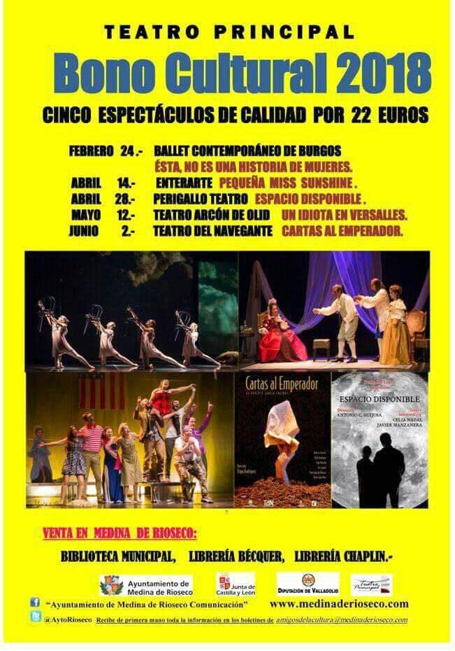 Teatro en Medina de Rioseco