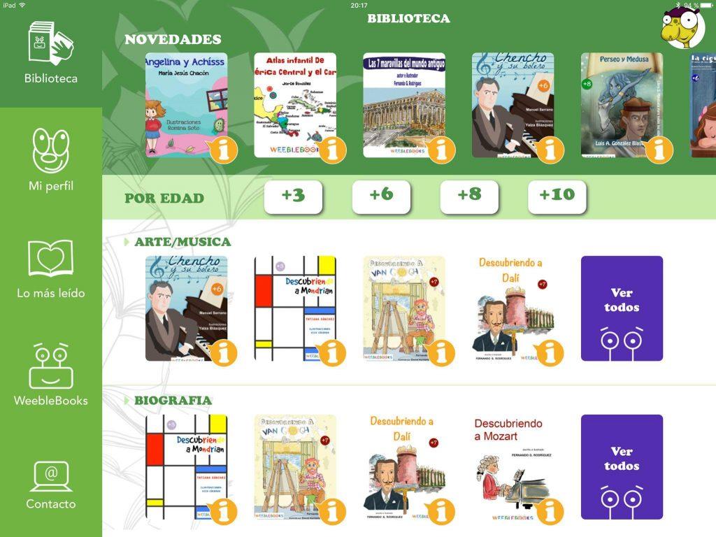 App de libros gratuita