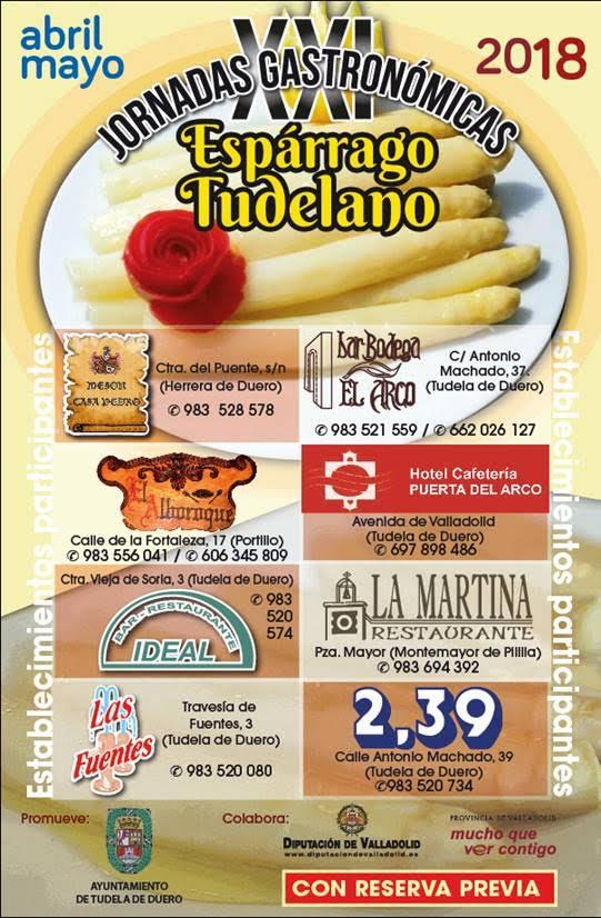 Jornadas gastronómicas del Espárrago Tudelano