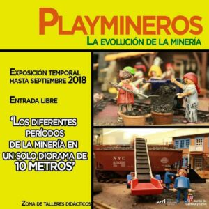 Playmineros, la evolución de la minería @ Museo de la Evolución Humana