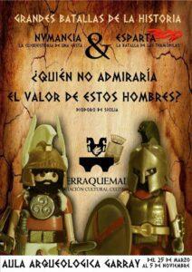 Grandes batallas de la historia con Playmobil @ Antiguas Escuelas