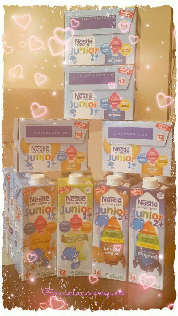 Probando Nestlé Junior Crecimiento