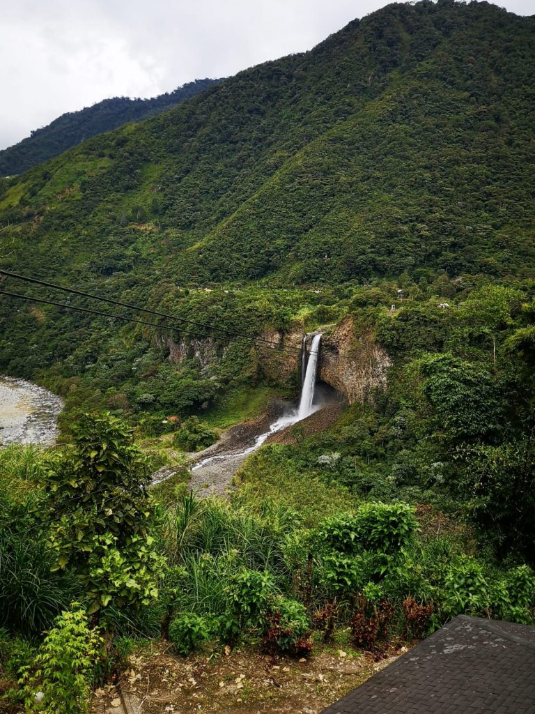 La ruta de las cascadas