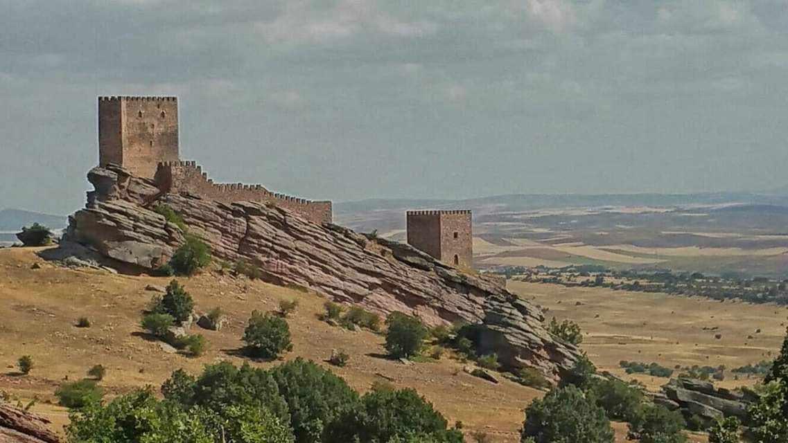 El castillo de Zafra