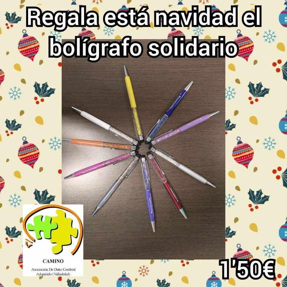 Bolígrafos solidarios