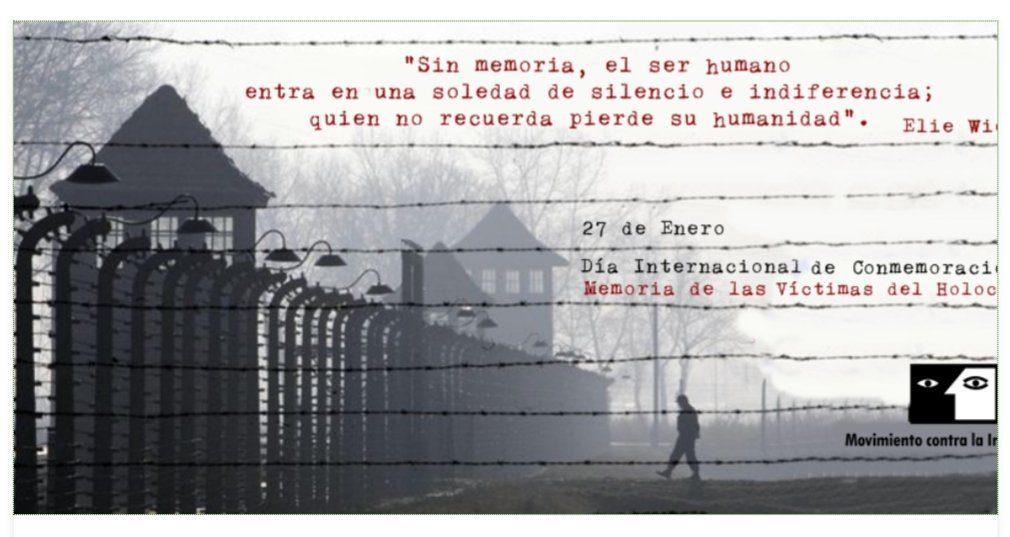 Día Internacional de conmemoración a la Memoria de las víctimas del Holocausto