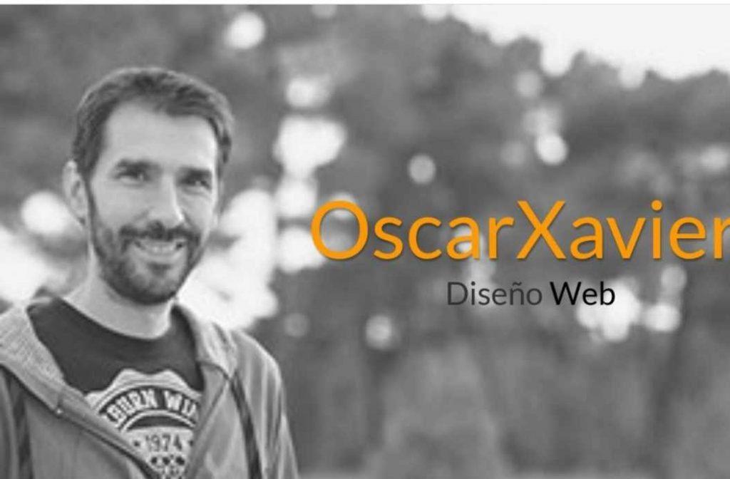 Hoy conocemos a … OscarXavier Diseño Web