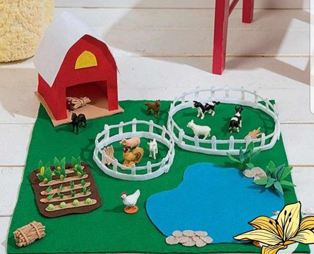 Una granja casera
