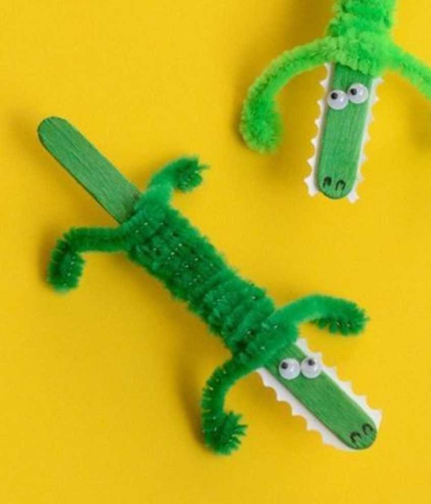 Divertidos cocodrilos