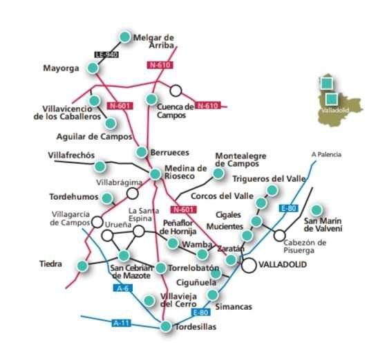 Ruta de Páramos y Campos de Valladolid