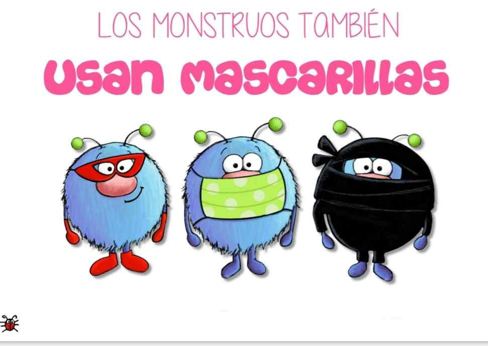Los monstruos también usan mascarillas