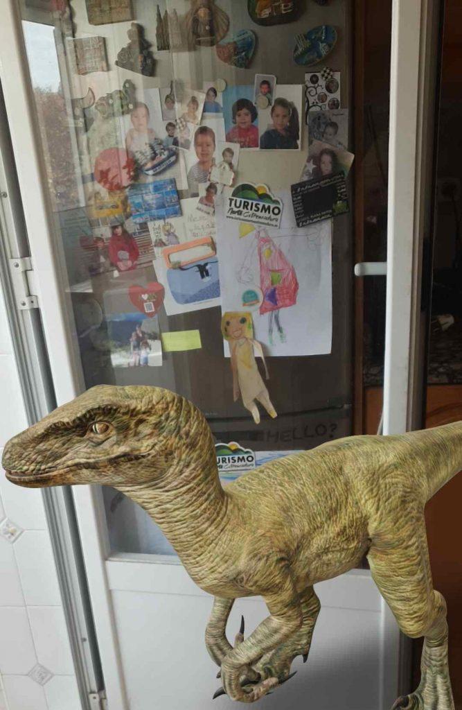 Hay un dinosaurio suelto!