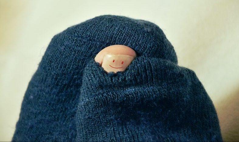 Un calcetín roto