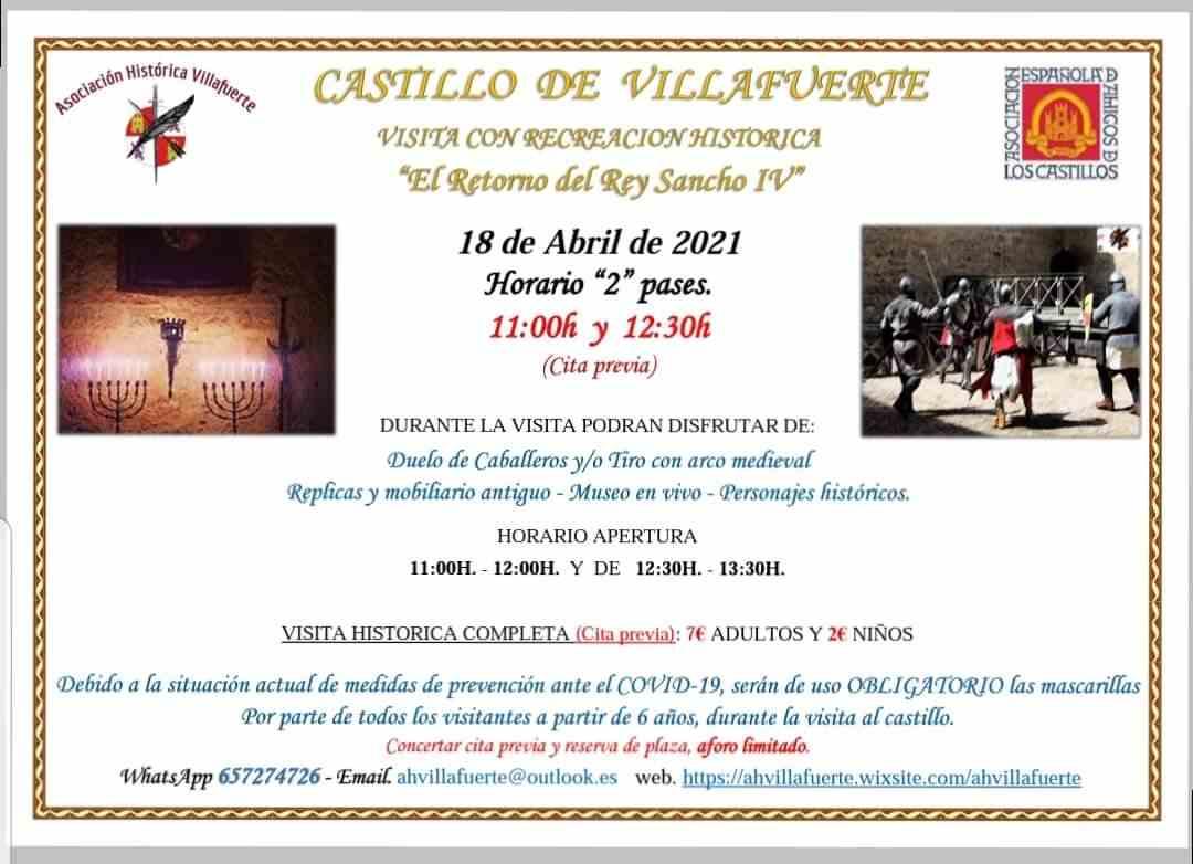 El retorno del rey Sancho IV